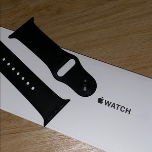 Black Apple Watch Band 38 mm
